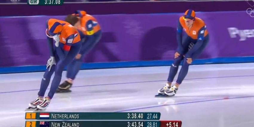 Brons voor de Nederlandse mannen