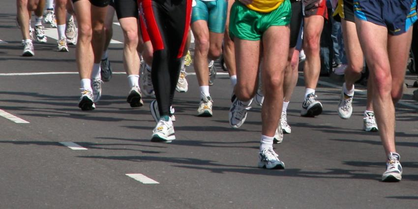 Hardlopen is hot: veel hardlopers oververhit