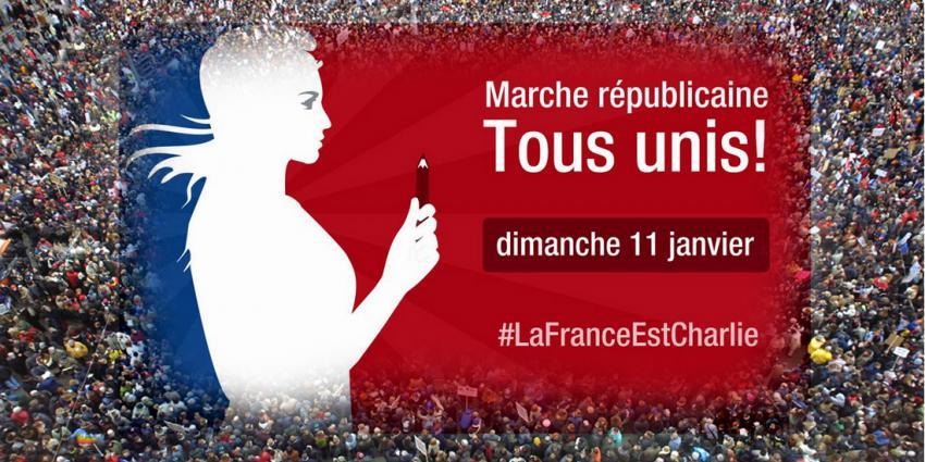 Parijs loopt vol voor grootste Franse betoging ooit