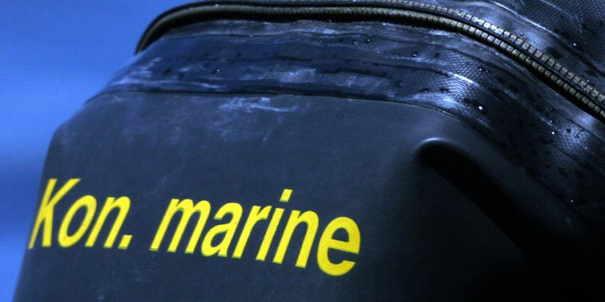 Marin duikers stuiten tijdens oefening op stoffelijk overschot