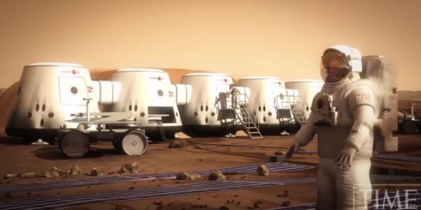 Drie Nederlanders stapje dichter bij voor enkeltje Mars