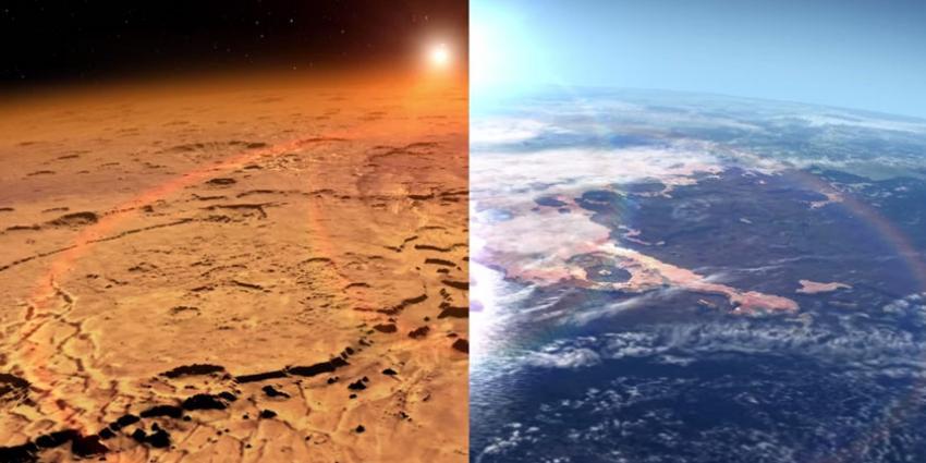 'Astronauten die naar Mars reizen riskeren hersenschade'