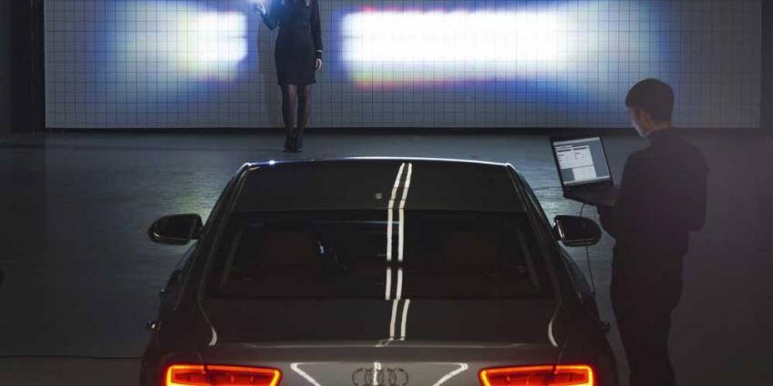 Foto van matrix LED-koplamp Audi | Audi