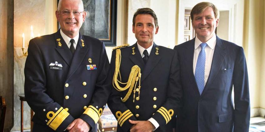 Foto van prins Maurits en koning Willem-Alexander   RVD/Jeroen van der Meyde