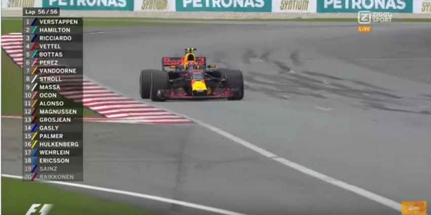 Max Verstappen wint Grand Prix van Maleisië