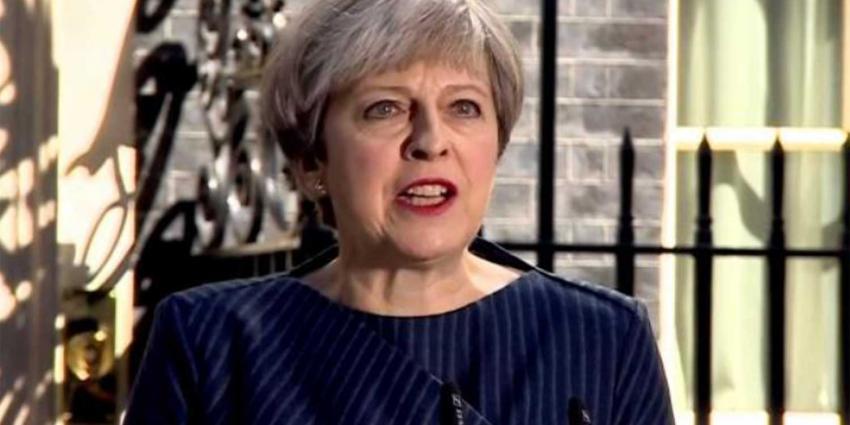 Britse premier Theresa May morgen bij Rutte op werkontbijt