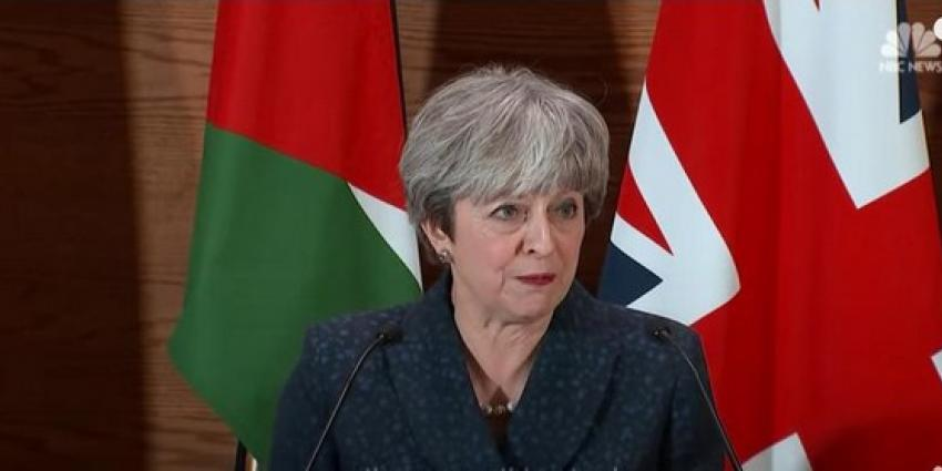 Britse veiligheidsdienst voorkomt aanslag op premier  Theresa May
