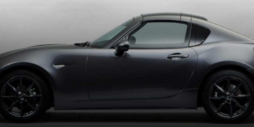 De Mazda MX-5 RF in première op het Goodwood Festival of Speed