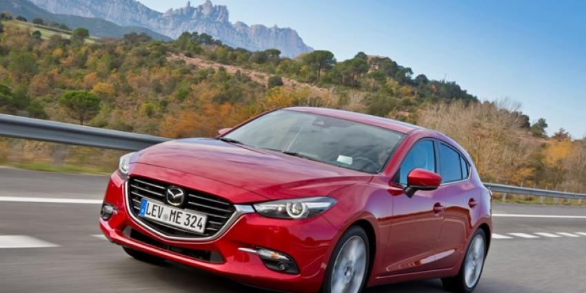 De nieuwe Mazda 3 2017