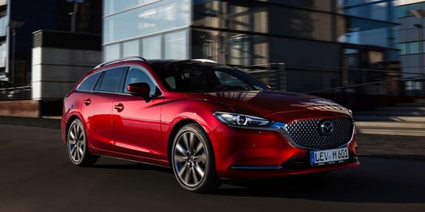 Vernieuwde Mazda6 scoort 5-sterren EuroNCAP