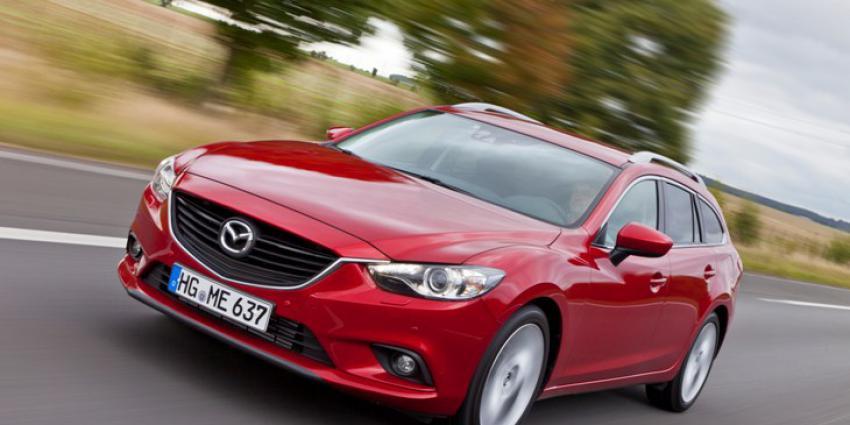Gelimiteerde Mazda6 Sportbreak Red Dot Edition