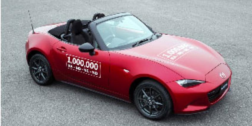 Mazda MX-5 bereikt mijlpaal van 1 miljoen exemplaren