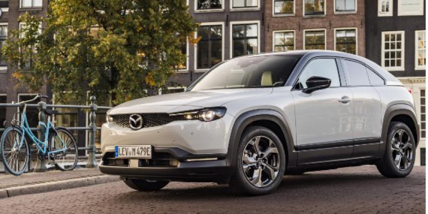 Mazda geeft MX-30 meer lijn