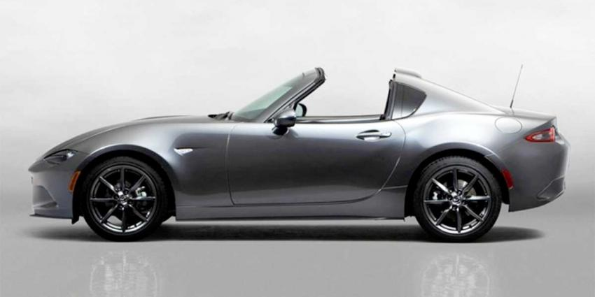Europese première Mazda MX-5 RF op Goodwood Festival Of Speed