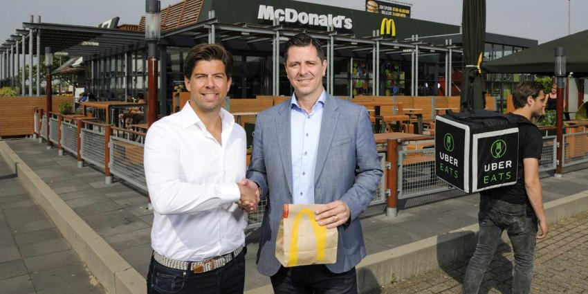 McDonald's gaat toch thuis bezorgen