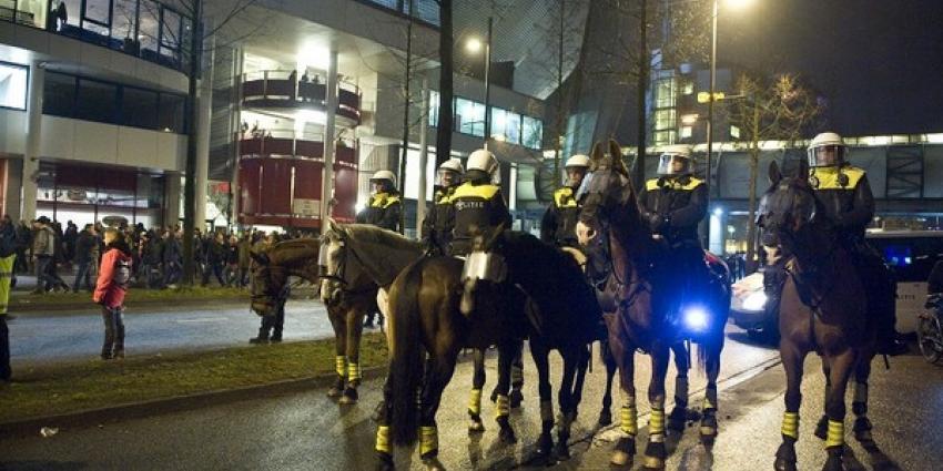 Politiepaard verongelukt bij begeleiding demonstratie