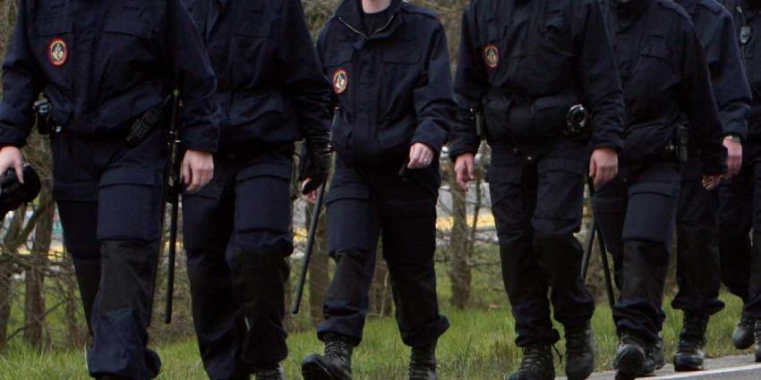 Politie grijpt in bij 'Project X-feest' in wijk Enschede