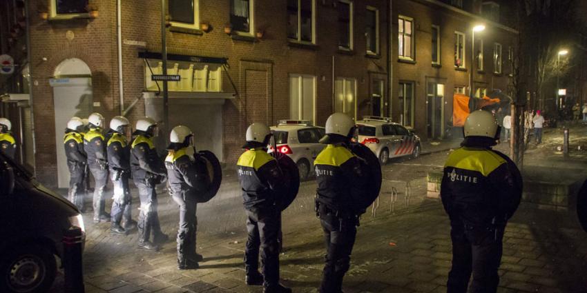 foto van jaarwisseling politie me | Flashphoto | www.flashphoto.nl