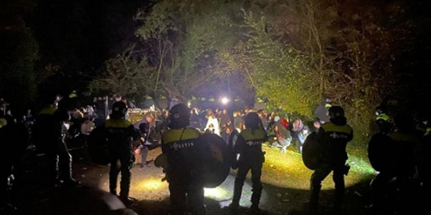 In Limburg en Amsterdam illegale feesten beëindigd