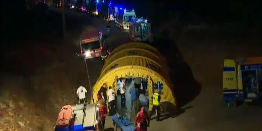 Twee gewonden bus ongeval Portugal nog niet snel naar huis
