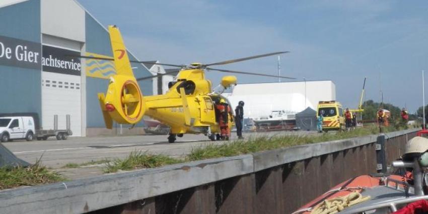 Jongen (9) hand kwijt na ongeval op zeilschip