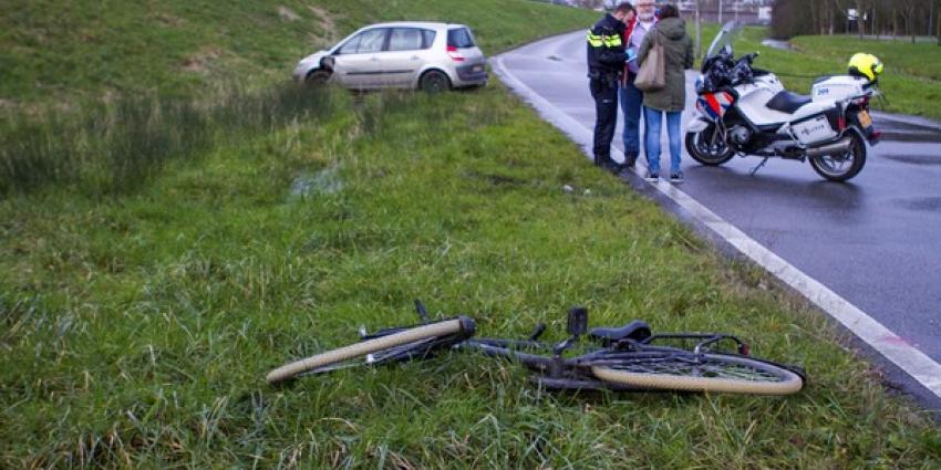 Meisje gewond bij aanrijding oprit A20