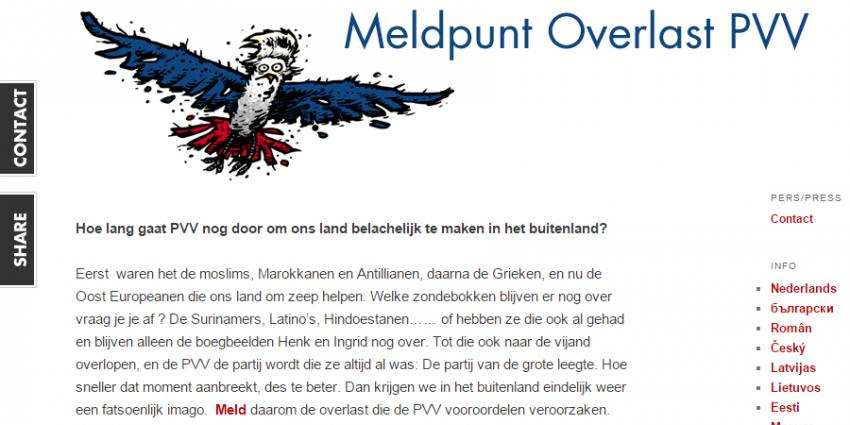 Ex-asielzoeker opent meldpunt PVV-overlast