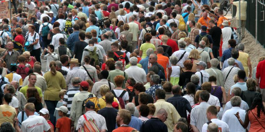Nederland telt bijna 17 miljoen inwoners