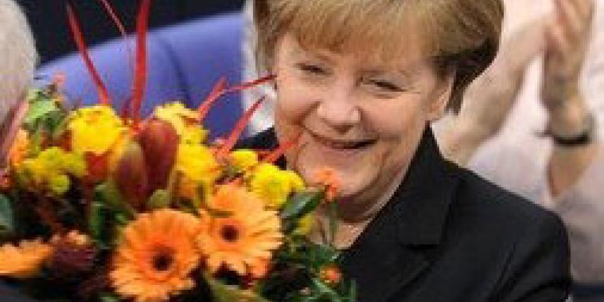 Merkel   Bundestag Achim Melde
