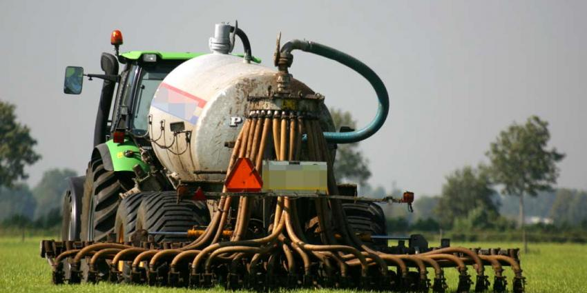 Fosfaatproductie dierlijke mest opnieuw lager