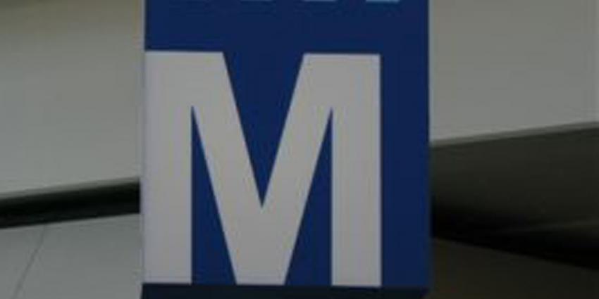 Medewerker GVB mishandeld op metrostation