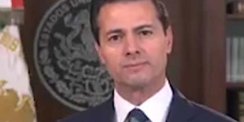 President van Mexico bezoekt Nederland