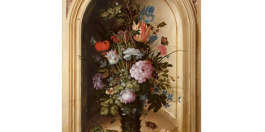 Mauritshuis verwerft zeldzaam bloemstilleven Roelant Savery
