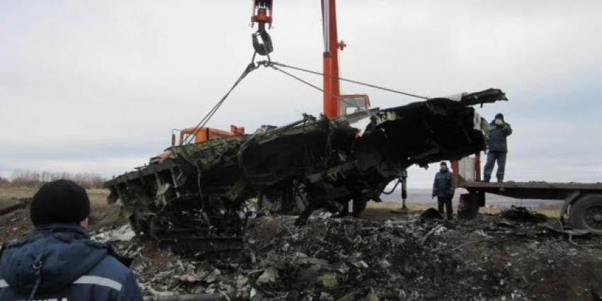 'Nieuwe beelden van vlak na de crash met MH17'
