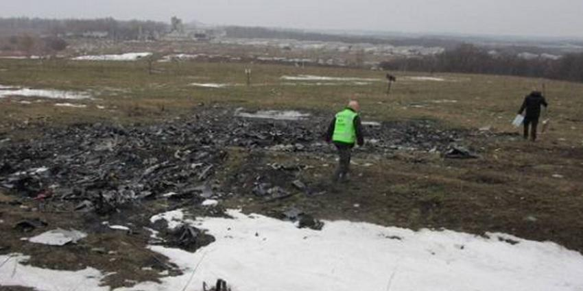 Overleg in torentje met nabestaande MH17