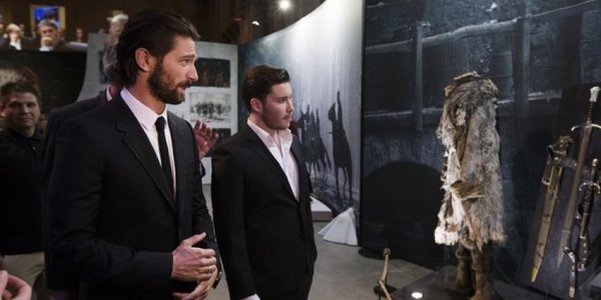 Michiel Huisman en Daniel Portman openen Game of Thrones: The Exhibition