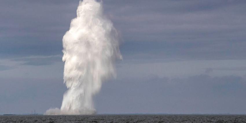 NAVO-vlootverband ruimt explosieven voor Nederlandse kust