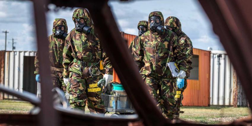 militairen-chemische-oefening-2019