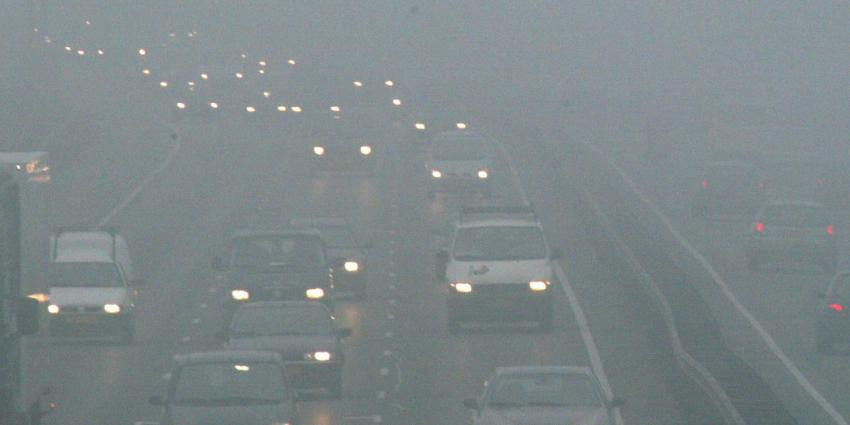 Kans op dichte mist in het oosten van het land