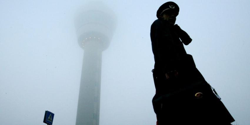 'Vliegverkeer heeft last van de mist'
