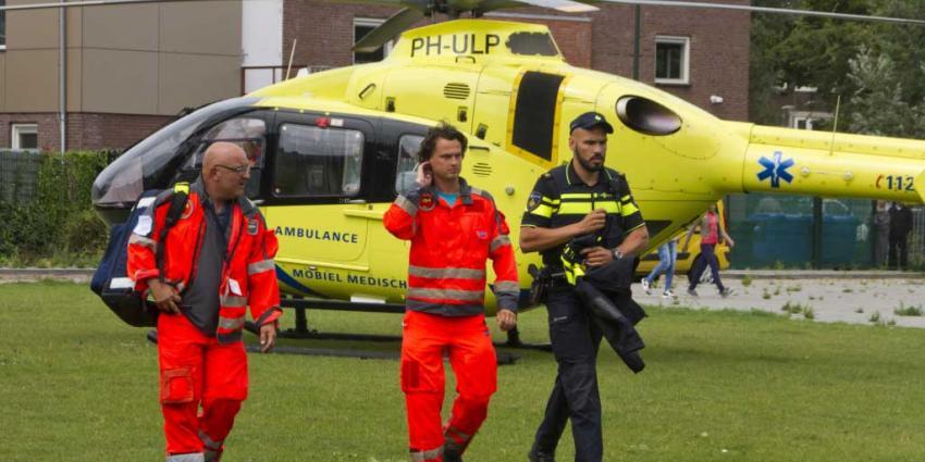 Kind gewond na val in woning