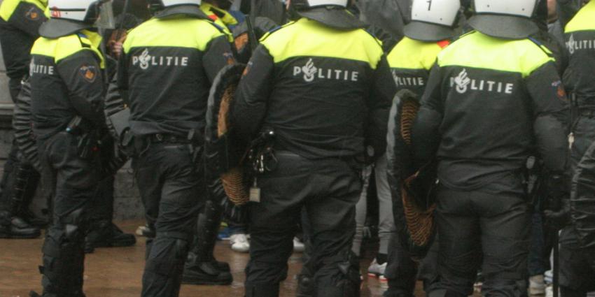 Politie ontruimd kraakpand in Tilburg