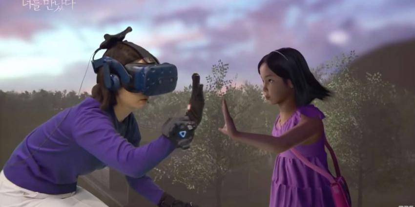 Moeder ontmoet haar overleden dochtertje in virtual reality