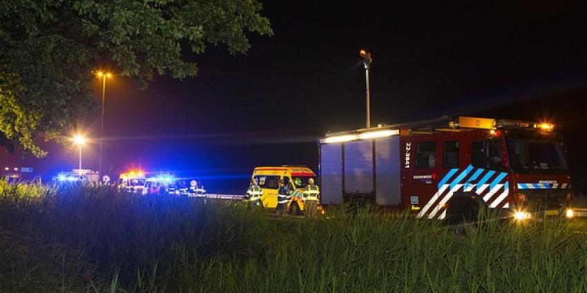 Snelweg A58 bij Moergestel dicht na ernstig ongeval