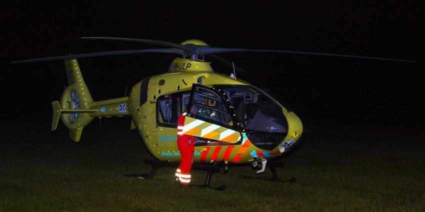 Vier gewonden bij ernstig ongeval op A58