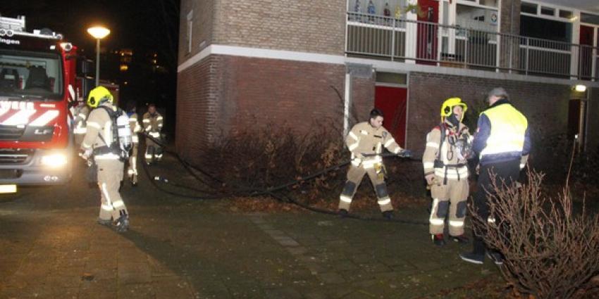 Brandweer gealarmeerd voor mogelijke brand
