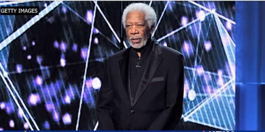 'Nu ook Morgan Freeman beschuldigd van seksuele intimidatie'