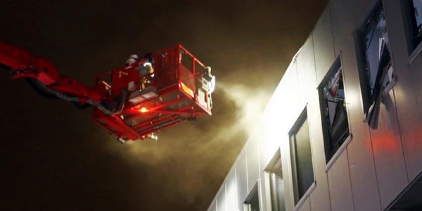 Weer brand bij MotoPort in Schiedam