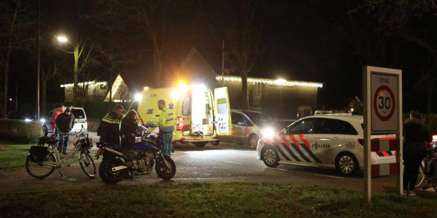 Motorrijder schuift onderuit op de Boxtelseweg in Liempde