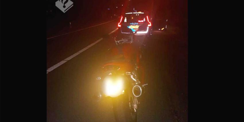 Motorrijder rijdt 193 km/h op 80km weg